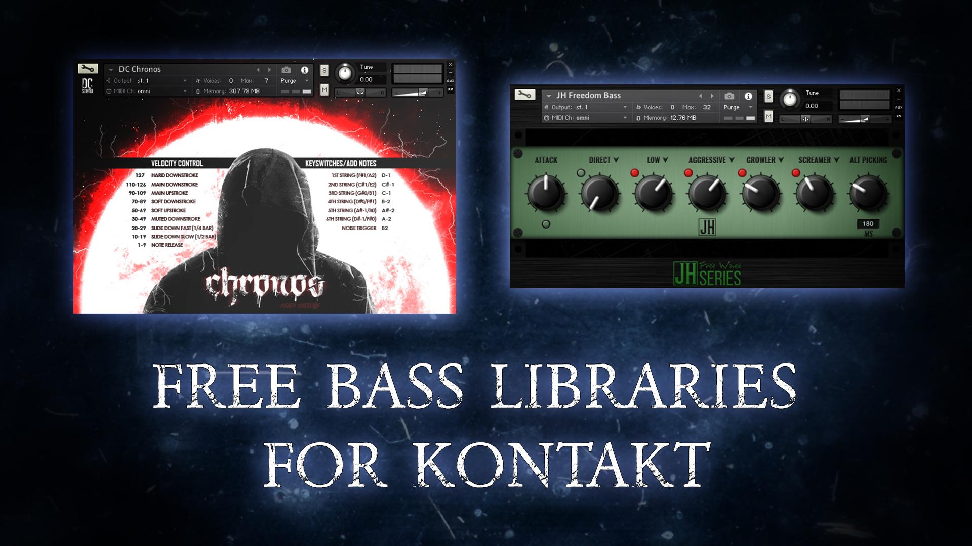 Бесплатные басы для Контакта