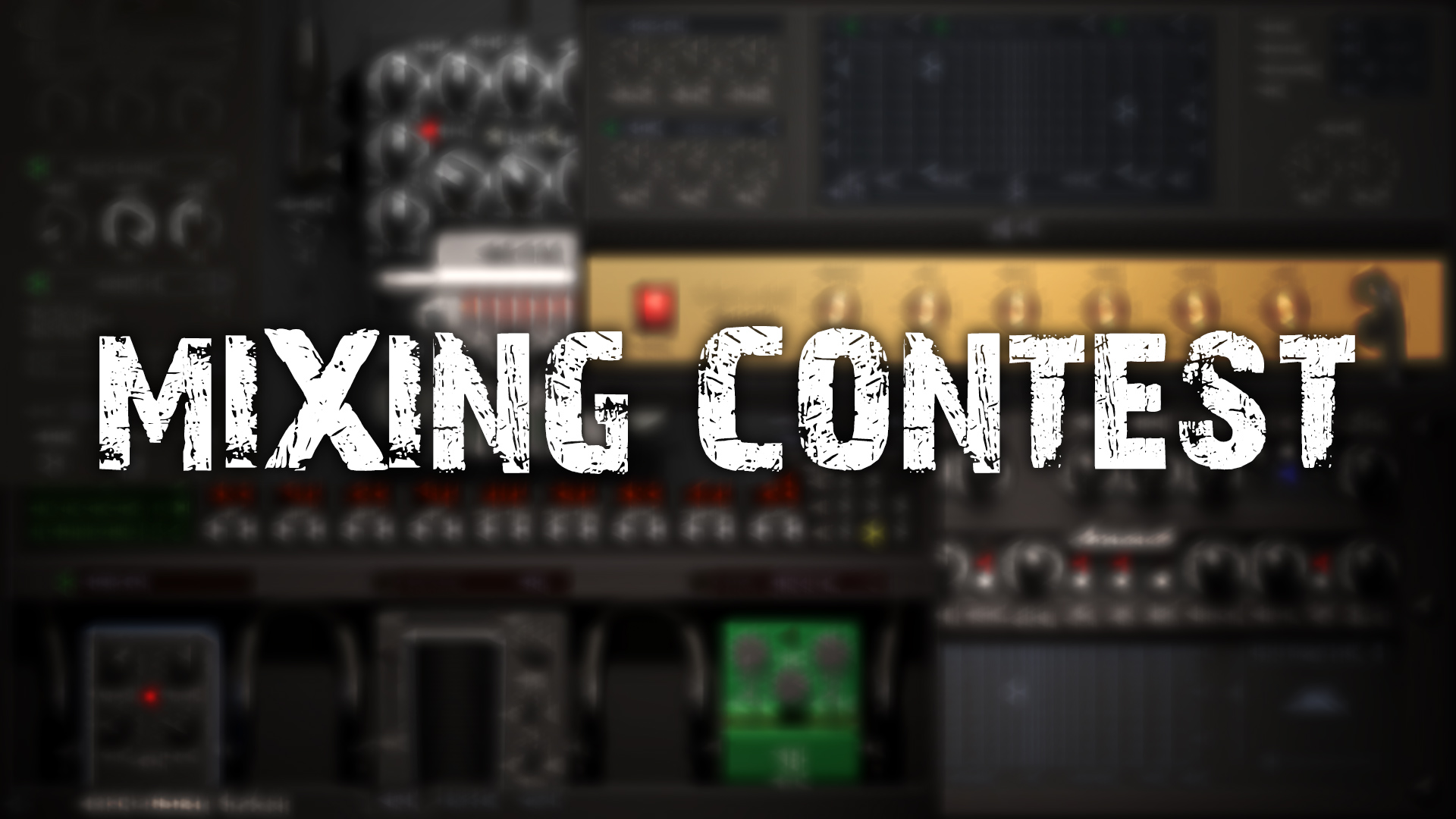 Mixing Contest – Win Mercuriall Plugin!
